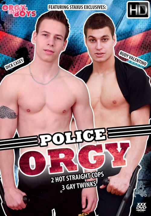 Police Orgy Gay Movie