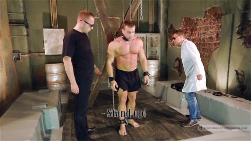 RusCapturedBoys - Resale of Bodybuilder Roman. Part 1 Gay BDSM