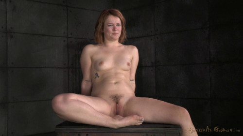 DOWNLOAD from FILESMONSTER: masturbation Pale redhead Claire Robbins strictly restrained and roughly fucked