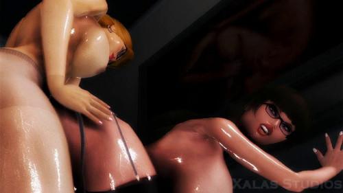 Femdom Vixens 3D Porno