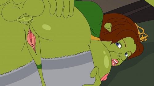 Shrek Cartoon Porn