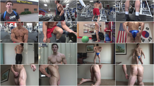 PumpingMuscle - Billy R Photo Shoot Gay Solo