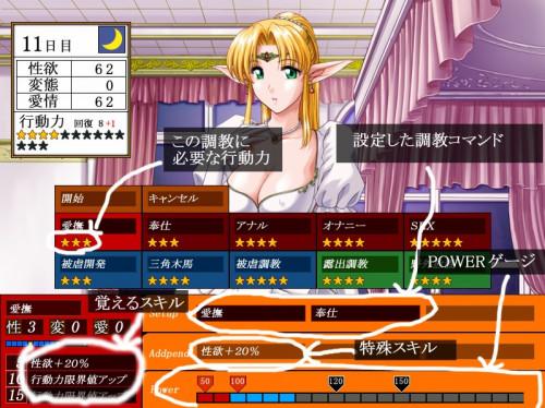 White Lady Hentai games