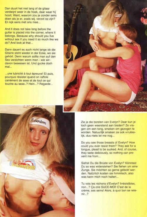 Lesbian Teenagers № 30 Magazines