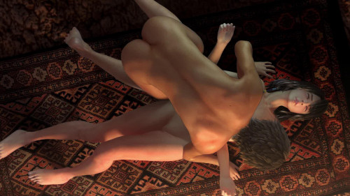Hot sex on the floor with a stranger 3D Porno