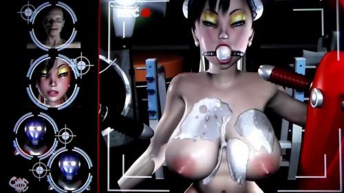 Virgin Fighter Training - Workout 1 3D Porno