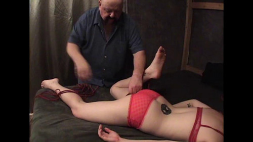 TB - Plastic Wrap Orgasm Part 1 Manta BDSM