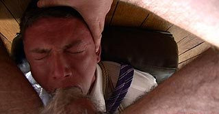 DOWNLOAD from FILESMONSTER: gay bdsm Tied with his body on display, gagged, flogged