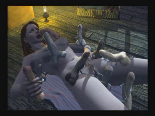 Pornomation Part I 3D Porno