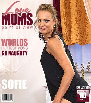 Sofie m – Horny mom fucks in POV style HD 720p