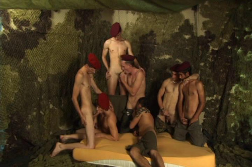 Bareback Gangbang Recruits 2 Gay Movies