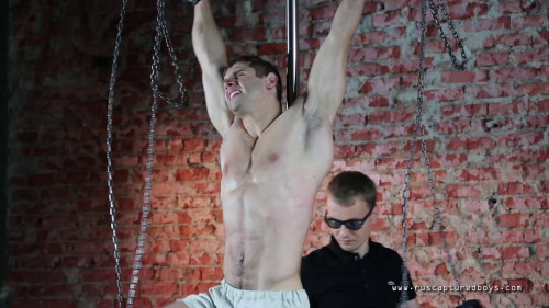 RusCapturedBoys - The Training of Slave Zhenya - Part II Gay BDSM