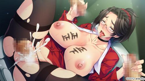 巨乳熟女教師 ~不良にヤられたアラフォー母と学園のアイドル~ Hentai games
