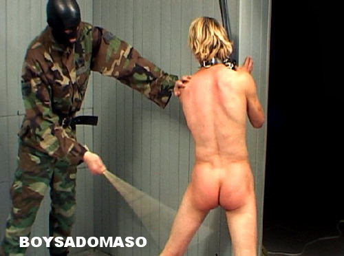 BoySM: Hard Military Boy Caning & paddling 3 Scenes Gay BDSM