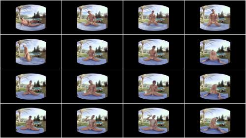 Virtual Real Gay - Swimmer (PlayStation VR) Gay 3D stereo