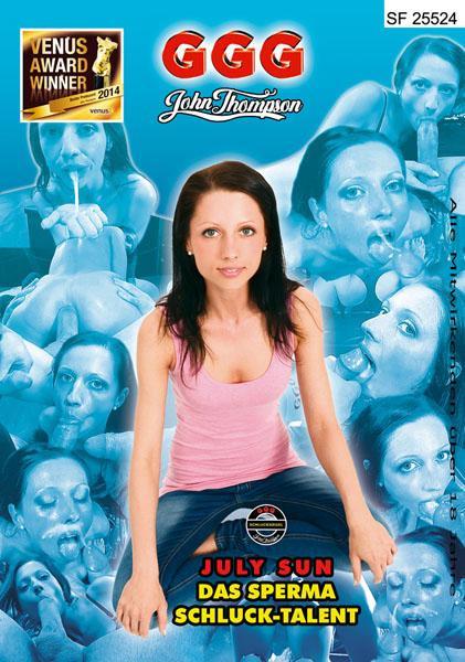 July Sun - Das Sperma Schluck-Talent Bukkake