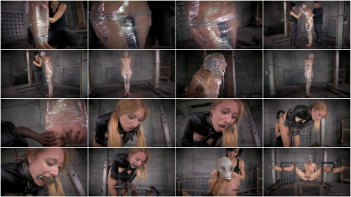 Emma Haize Experiences Bondage In Plastic Wrap And More.