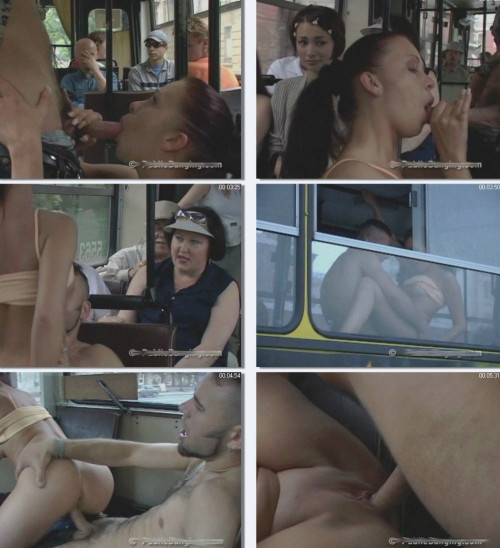 DOWNLOAD from FILESMONSTER: public sex The perverted city bus of Moscow