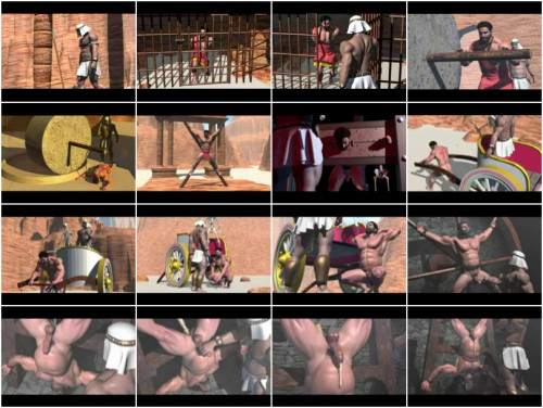 Tagame Desert Dungeon 3d Gay BDSM 3D Porno
