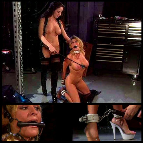DOWNLOAD from FILESMONSTER:  BDSM Extreme Torture  Sexy Blonde In Training   BT