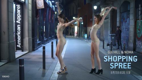 Gia Hill & Noma - American Apparel Shopping Spree Erotic&Softcore