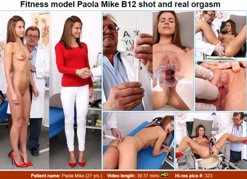 Paola Mike (27 years girls gyno exam)