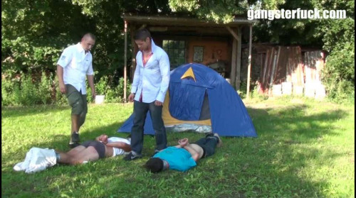 A Camping Day part 1 Gay BDSM