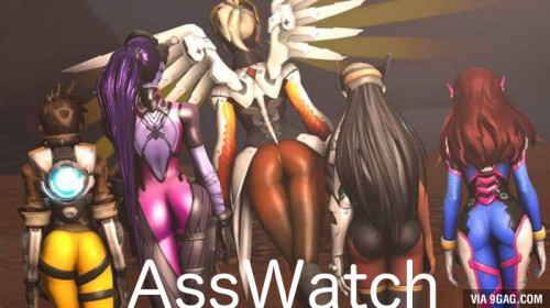 Booty Watch - An Overwatch Compilation of Ass HD Anime and Hentai