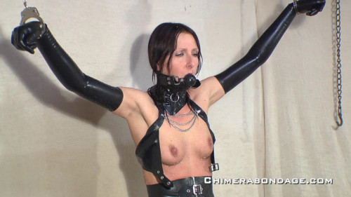 Tracey selects another ice release from the box... (2013) BDSM