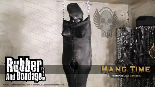 RubberandBondage - HangTime ElleBontecou 2015 HD BDSM