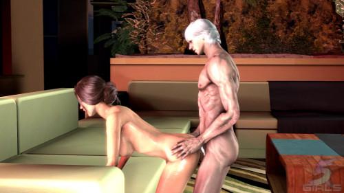 5 Star Girls - Spank Me 3D Porno