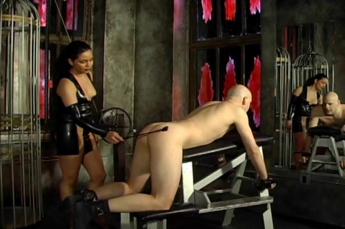 Pleasure Thru Pain 3, scene 2 Femdom and Strapon