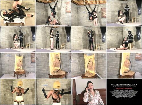 Devonshire – DP-315B – Exotic Latex Bondage & Rubber Encasement 13 – Brandy, Simone Devon