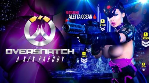 Aletta Ocean, Danny D – Oversnatch A XXX Parody FullHD 1080p