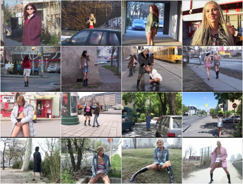 "New Collection 2016 – Best 34 clips in 1. ""Extreme public piss""."