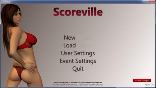 Scoreville 3.0.0 + 220 girlpaks + 10 twogirlpacks 2015 Porn games