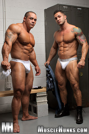 Musclehunks - Muscle Grapplers with Bill Baker and Diego El Potro Gay Extreme