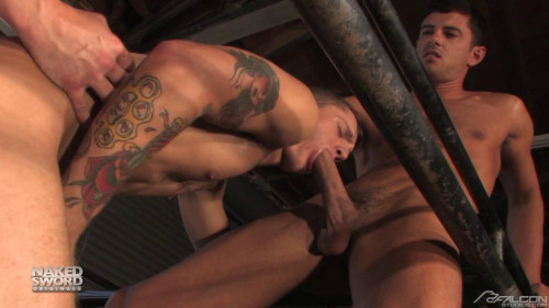 NakedSword - Brad Star, Chris Porter & Donny Wright Gay Clips