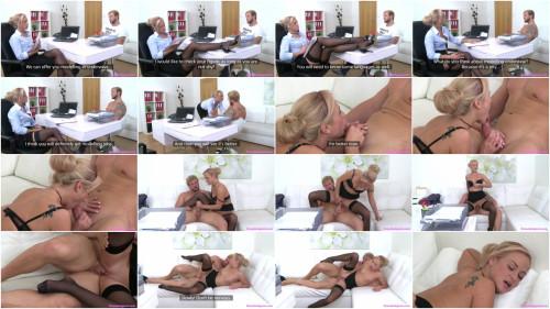 Cristal Caitlin – Bodybuilder Fucks Agent to Orgasm FullHD 1080p