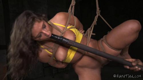 Hardtied - Feb 25, 2015 - Tie Me Up - Abella Danger - Jack Hammer BDSM
