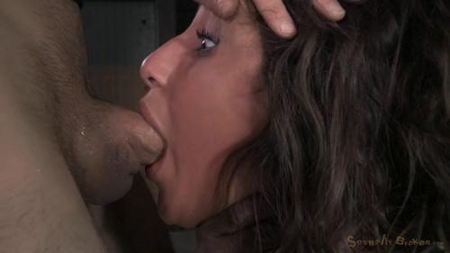 Flexible cock slut Abella Danger BDSM
