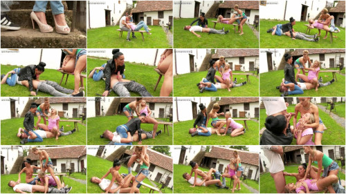 DOWNLOAD from FILESMONSTER: peeing Caution! Crazy Casual Cum Cunts Get Pissycal And Really Physical (2015)