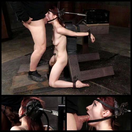 Deepthroat On Two Cocks (Violet Monroe) Sexually Broken