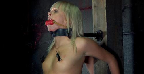 Hot slave loves pain BDSM