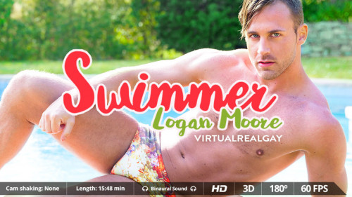 Virtual Real Gay - Swimmer Gay 3D stereo