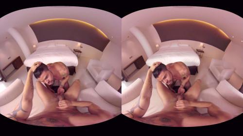Virtual Real Gay - Tough Blowjob Gay 3D stereo