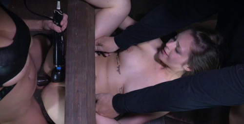 Local College Girl Finds Herself Bound, Fucked