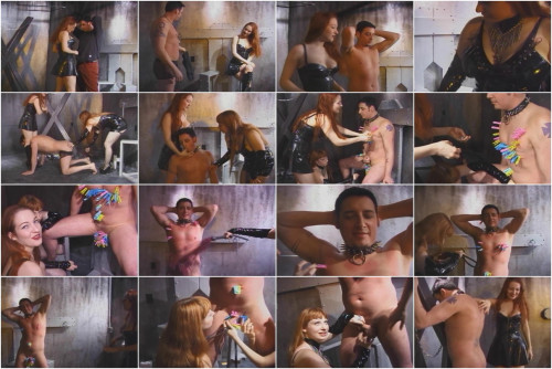 Felix The Lucky Slave 2, scene 1 Femdom and Strapon