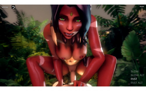 Nidalee - Queen Of The Jungle (2015) Porn games