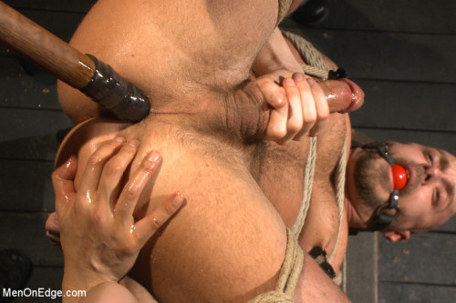 Jessie Colter edged and cum on his face Gay BDSM